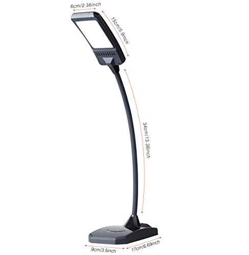 Kedsum Dimmable Eye Care Led Desk Lamp 6w Flexible