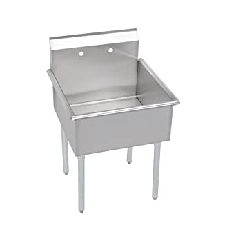 Budget 1-Compartment Sink, no drainboard