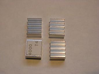 Xbox 360 RAM Heatsinks (4 pcs) for HANA ANA Southbridge RAM Chips - Upgrade Cooling Repair - Prevent RROD
