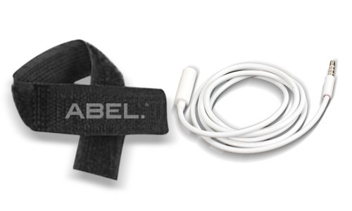 Ecomgear(Tm) 3.5Mm White Extension Long Cable 1M+Abel Cable Tie For Apple Ipod Iphone Ipad Earbuds