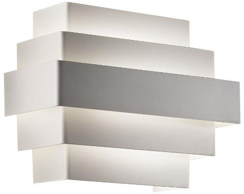 Studio Italia Design Maya AP - Portacandele da parete, colore: Bianco
