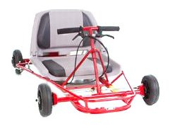 Go-Ped Super Go Quad 46 Gas Powered Mini-Kart (Red)
