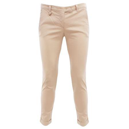 R5P34Q1 Armani Jeans Pantalone chino Beige 46 Donna