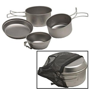 Snow Peak Titanium Cookware - 4pcs One Color, One Size
