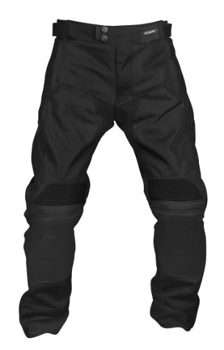 Pilot Men's Omni Air Mesh Motorcycle Over pants (Black, Medium)