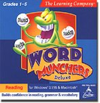 Word Munchers Deluxe (Jewel Case)