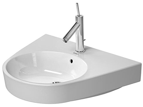 Washbasin 65 cm Starck 2 white with OF, with TP, 3 TH, WGL