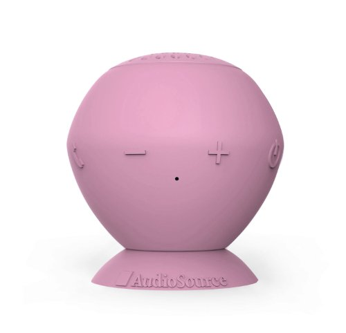 Audiosource Sound Pop Bluetooth Speaker (Bubble Gum) front-1015129