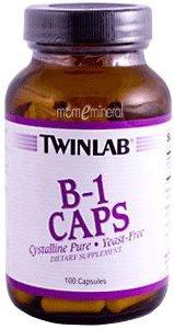 B-1 Caps, 500 mg, 100 Capsules by Twinlab