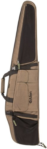 Allen Company Dakota Gear Fit Scoped Rifle Case, 48-Inch, Green/Black