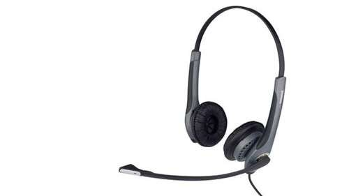 Jabra 20001-491 Gn 2000 Usb Duo Ms Lync Optimized Headset For Softphone