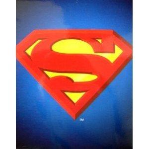 Superman Blanket - Queen Size S Logo Superhero Superman Throw Blanket front-1065365