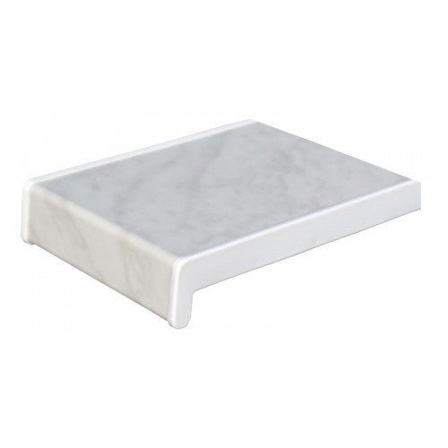 1m fensterbank tiefe 200 mm marmor kunststoff fensterbrett - Fensterbank setzen ...