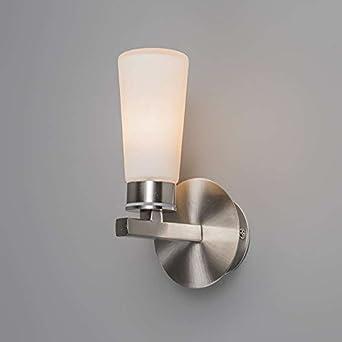 o0oqazqa design moderne applique applique murale salle de bain simas 1 1 acier verre. Black Bedroom Furniture Sets. Home Design Ideas