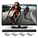 "LG 55LM4700 55"" 1080p 120Hz LED 3D TV w/ Soundbar by LG"