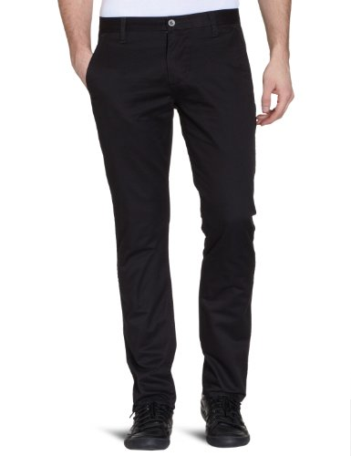 Dockers Alpha Kakhi Straight Men's Trousers Midnight W33 INXL34 IN