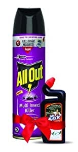 All Out All Out Multi Insect Killer + Muscle Toilet Cleaner