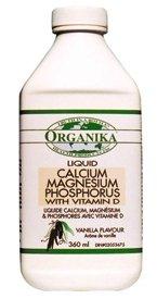 Organika Liquid Calcium Magnesium Zinc With Vitamin D- Vanilla Flavour