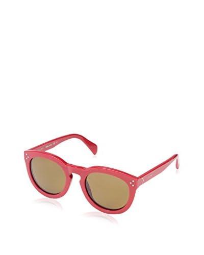 Céline Women's CL41801 Sunglasses, Solid Red