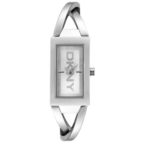 Dkny Ladies Polished Stainless Steel With Silver Dial Watch Ny4673