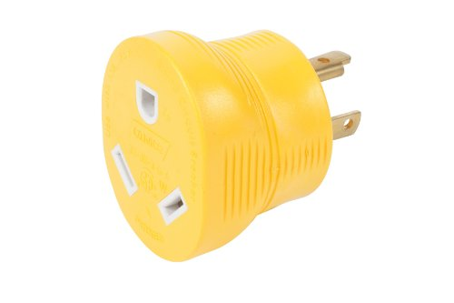 Camco 55333 RV 30 AMP 3-Prong Generator Adapter (Rv 30amp Adapter compare prices)