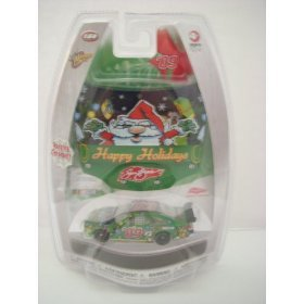 Winner's Circle Happy Holidays Sam Bass 2009 Collector Car with Holiday Ornament - 1