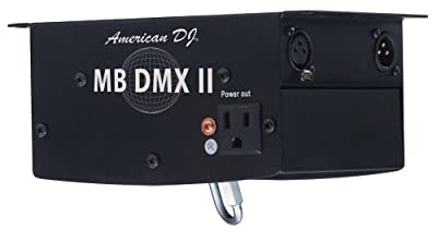 American Dj Mb Dmx Ii Dmx Controllable Mirror Ball Motor by American DJ Group of Companies