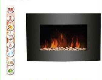 HANG ON THE WALL MOUNTED ELECTRIC FIRE PLASMA STYLE