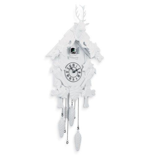 Torre & Tagus Village Cuckoo Clock, White