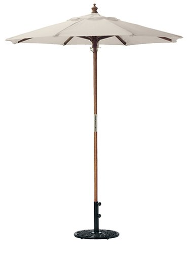 Oxford Garden 6-Foot Market Umbrella, Natural