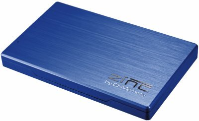 CnMemory Zinc externe Festplatte 500GB (6,4 cm (2,5 Zoll), USB 3.0) blau