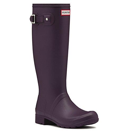 Womens Hunter Original Tour Wellington Winter Snow Waterproof Rain Boots - Purple Urchin - 10 (Hunter Rain Boots Ladies compare prices)