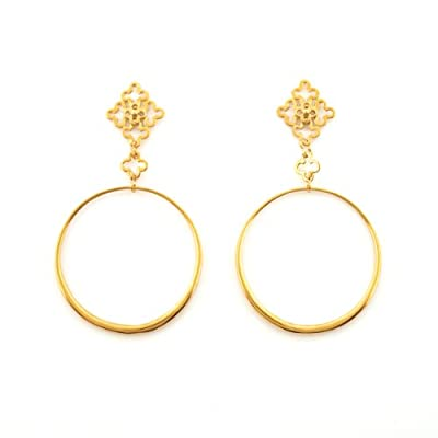 Talitha Circelet Earrings by Dinny Hall