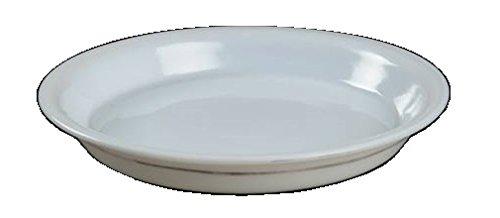 Corning Ware / Pyrex Opal Milkglass Pie Baking Plate ( 10 1/2