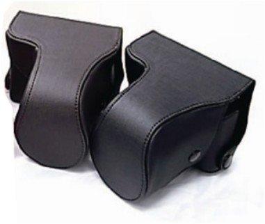 NIKON ニコン J1 J2 J3専用カメラケース(ダークブラウン)