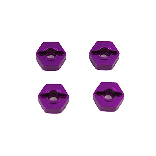 Redcat Racing 12mm Purple Aluminum Wheel Hex (4 Piece)