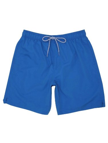 Mens Plain Blue Swimming Shorts Swimwear Royal Blue XL