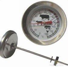 Impuls Thermometer / Räucherthermometer für