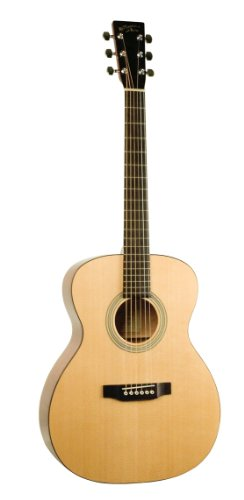 Recording King Ro-06-Fe3 Classic Series 000-Style Acoustic-Electric Guitar