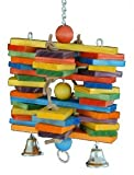 Super Bird Creations Woodpile Bird Toy
