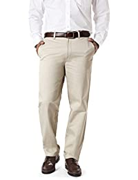 Barata Men's 100% Cotton Chinos Trouser For Men Regular Fit, Cream Chino Pant