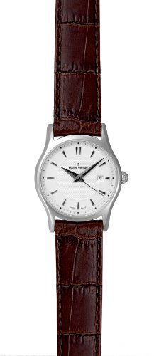 Claude Bernard Women's 33016 3 AIN Classic Ladies Brown Leather Date Watch