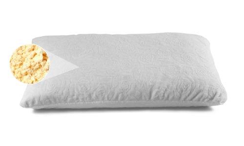 Dreamfoam Mattress Ultimate Dreams Shredded Latex Pillow, Queen
