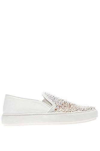 37728 BIANCO.Sneaker slip on.Bianco.38