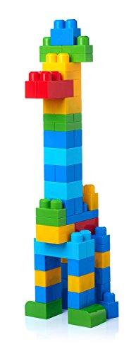 Bag Mega First Builders Big Building Classic 80 Piece Bloks Kids Blocks Toy New