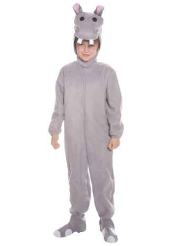 Big Boys' Child Hippo Costume