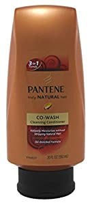 Pantene Truly Natural Hair Co-Wash Cleansing Conditioner