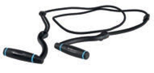 Body trainer ginnastica aerobica CORSPORT lungh. regolabil elastico maniglia ABS