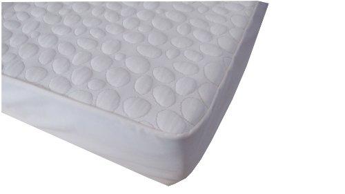 Dusk 2 Dawn Pebbletex Organic Cotton Quilted Waterproof Mattress Pad, King front-108562