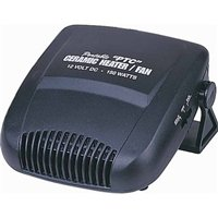 Car Ptc Ceramic Heater And Fan (12 V- 120 Watts)